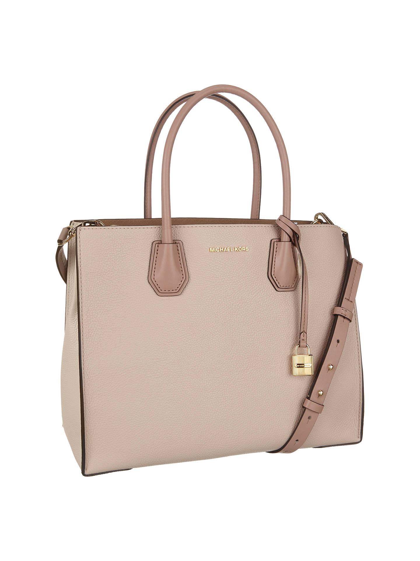 b22f31e18e67 ... Buy MICHAEL Michael Kors Mercer Large Leather Tote Bag, Multi Online at  johnlewis.com