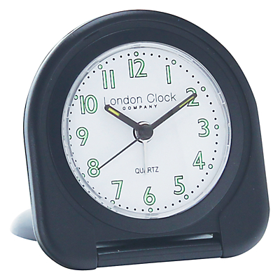 London Clock Company Flip Alarm Travel Clock