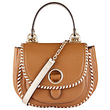 Buy MICHAEL Michael Kors Isadore Medium Leather Messenger Bag Online at johnlewis.com