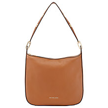 Buy MICHAEL Michael Kors Raven Large Leather Shoulder Bag Online at johnlewis.com