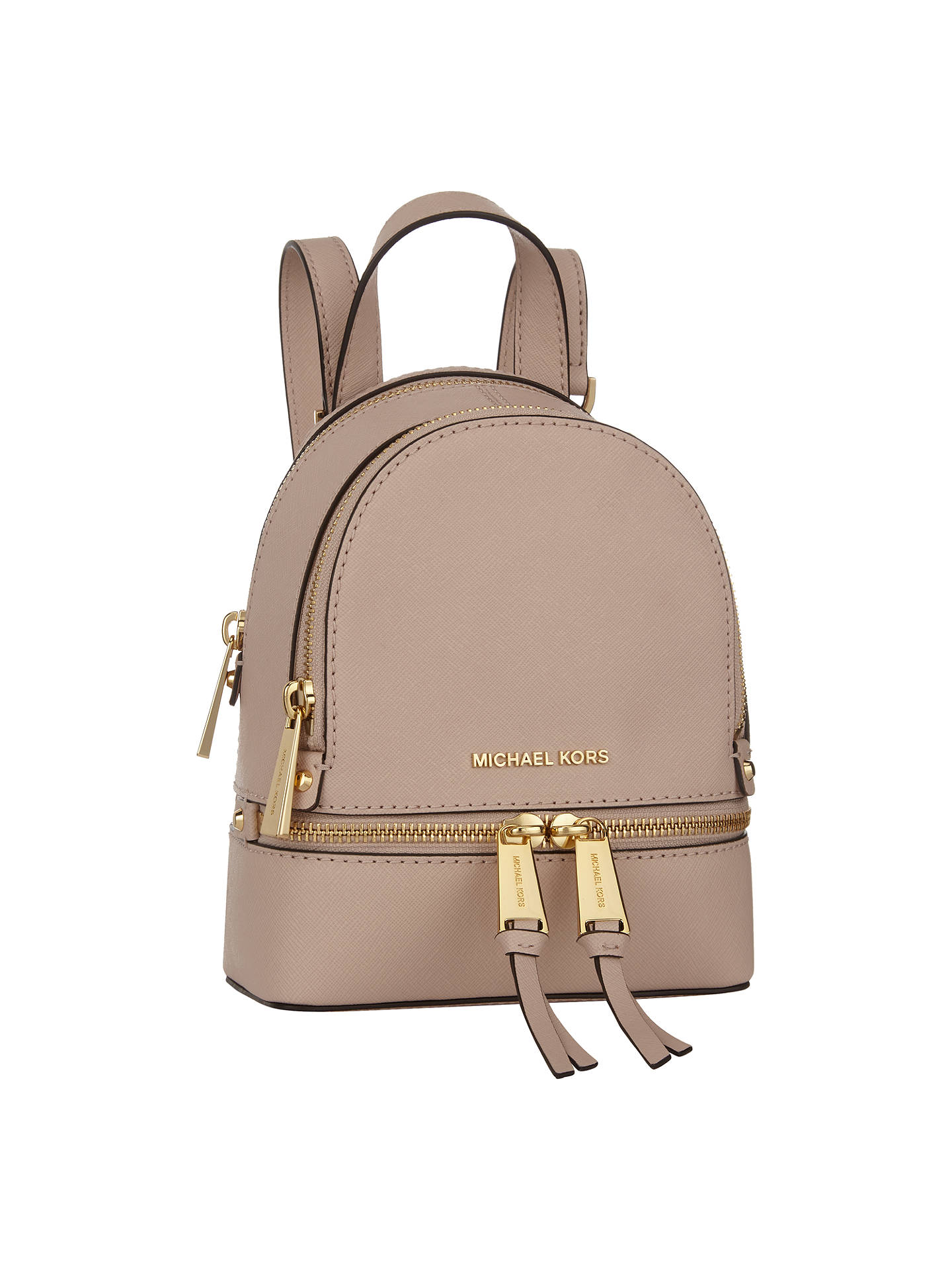3070e192520e BuyMICHAEL Michael Kors Rhea Extra Small Leather Backpack