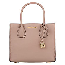 Buy MICHAEL Michael Kors Mercer Leather Messenger Bag Online at johnlewis.com