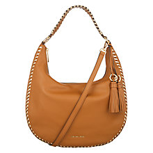 Buy MICHAEL Michael Kors Lauryn Leather Large Shoulder Bag Online at johnlewis.com