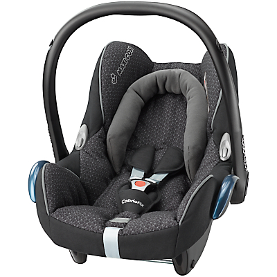 Maxi-Cosi CabrioFix Group 0+ Baby Car Seat, Black Crystal