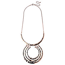 Buy Adele Marie Textured Large Rings Pendant Necklace Online at johnlewis.com