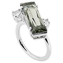 Buy Ted Baker Brijit Crystal Ring, Silver Online at johnlewis.com