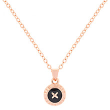 Buy Ted Baker Elvina Enamel Mini Button Pendant Necklace Online at johnlewis.com