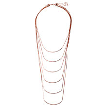 Buy Adele Marie 6 Row Layered Chain Necklace Online at johnlewis.com