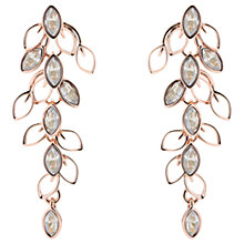 Buy Ted Baker Vyera Swarovski Crystal Wisteria Drop Earrings, Rose Gold Online at johnlewis.com