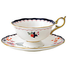 Buy Wedgwood Wonderlust Jasmine Bloom Cup and Saucer, Multi, 180ml Online at johnlewis.com