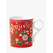 Buy Wedgwood Wonderlust Jewel Small Mug, Crimson, 250ml Online at johnlewis.com