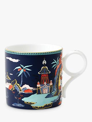 Wedgwood Wonderlust Pagoda Large Mug, Blue, 270ml
