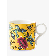 Buy Wedgwood Wonderlust Tonquin Large Mug, Yellow, 270ml Online at johnlewis.com