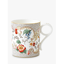 Buy Wedgwood Wonderlust Rococo Flowers Small Mug, Multi, 250ml Online at johnlewis.com