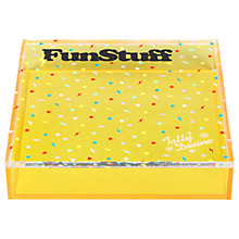 Buy Tatty Devine 'Fun Stuff' Storage Box, Large Online at johnlewis.com