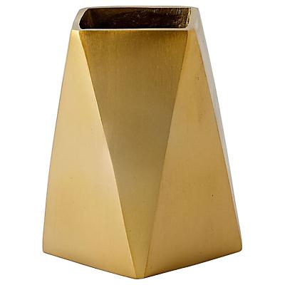 west elm Brass Jewellery Vase, Small