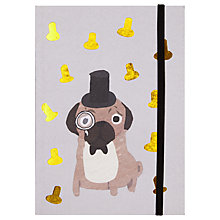Buy Fenella Smith Pug Notebook Online at johnlewis.com