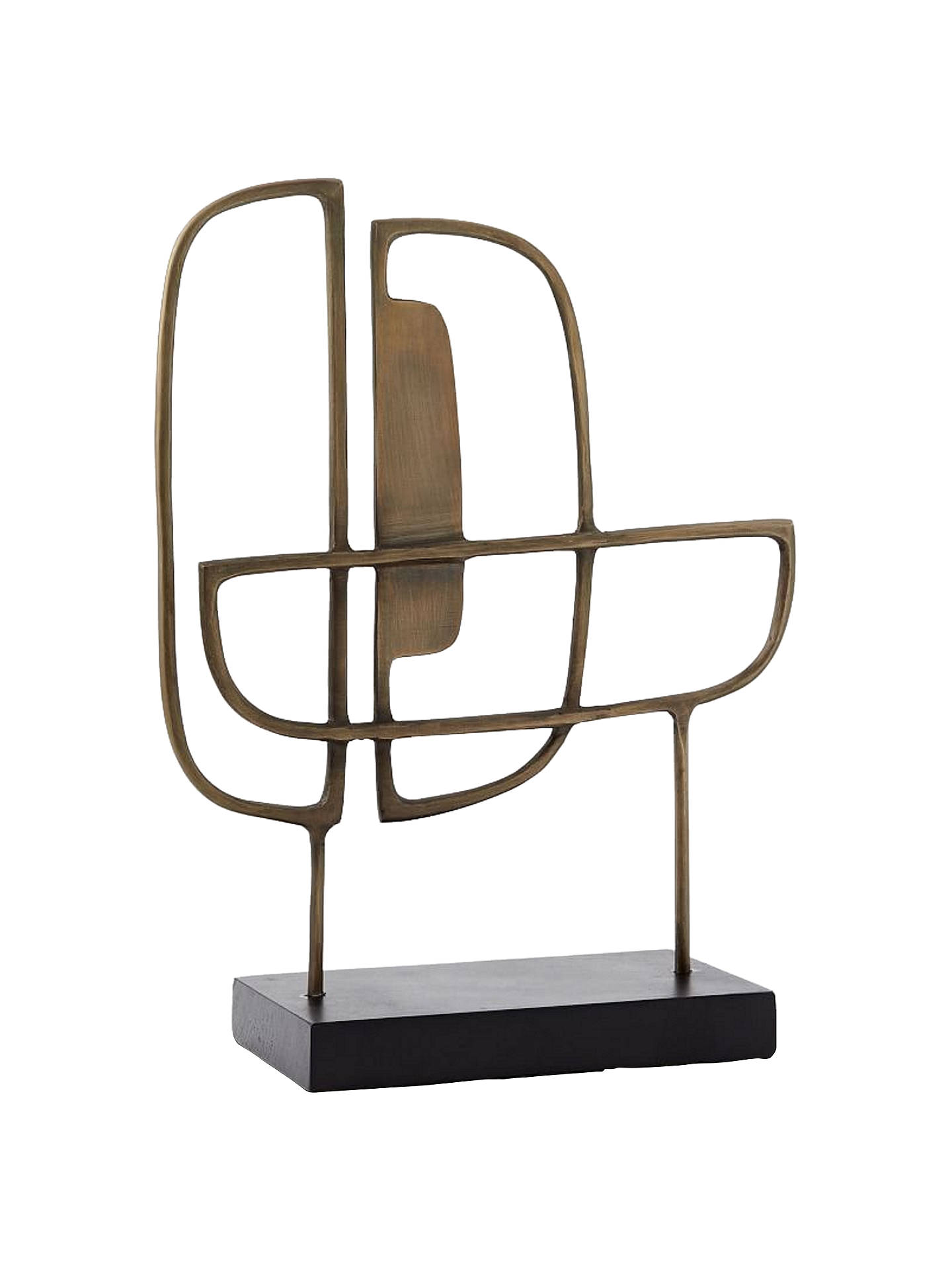 Buywest elm Mid-Century Metal Sculpture Online at johnlewis.com