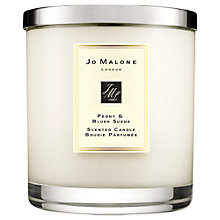 Buy Jo Malone London Peony & Blush Suede Candle, 2.5kg Online at johnlewis.com