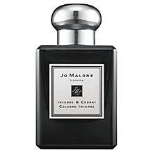 Buy Jo Malone London Incense & Cedrat Cologne Intense, 50ml Online at johnlewis.com