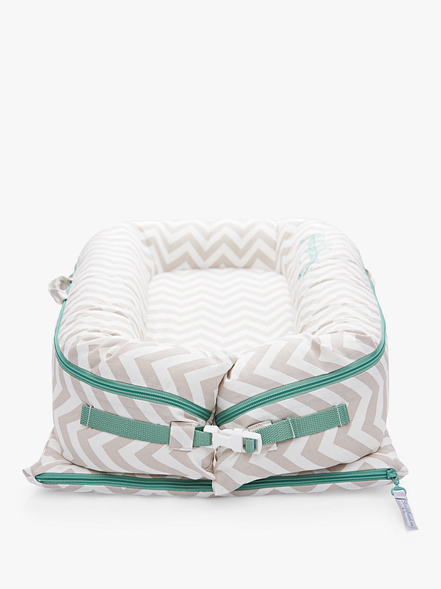 Buy Sleepyhead Deluxe+ Silver Lining Baby Pod, 0-8 months Online at johnlewis.com