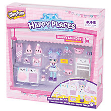 Buy Shopkins Happy Places Bunny Laundry Welcome Pack Online at johnlewis.com