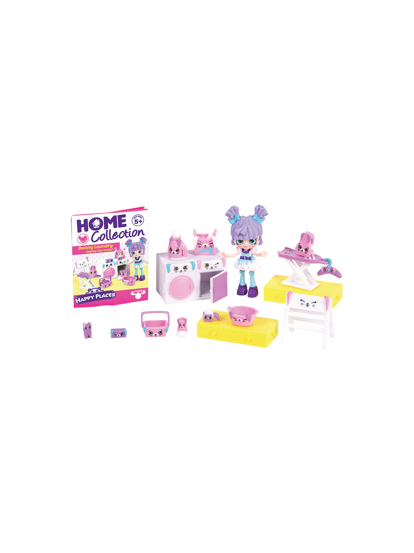 Shopkins happy places bunny laundry welcome pack at john - John lewis shopkins ...