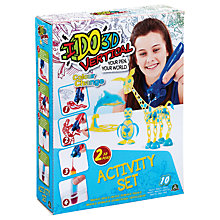 Buy Cool Create IDO3D Vertical Colour Change Activity Set Online at johnlewis.com