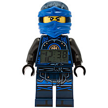 Buy LEGO Ninjago 9009297 Time Twins Jay Minifigure Clock Online at johnlewis.com