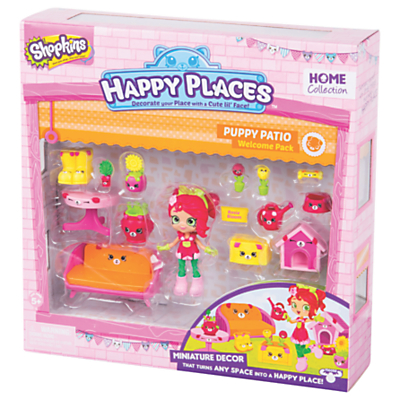 Shopkins Happy Places Puppy Patio Welcome Pack