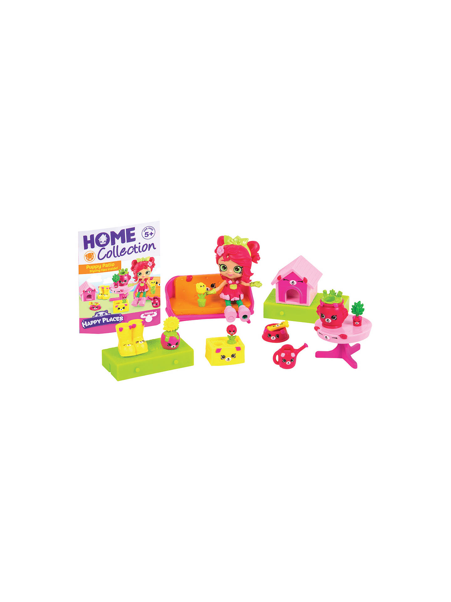 Shopkins happy places puppy patio welcome pack at john - John lewis shopkins ...