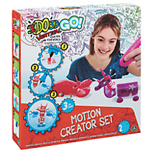 Buy Cool Create IDO3D Vertial Wild Word Motion Creator Set Online at johnlewis.com