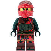 Buy LEGO Ninjago 9009280 Time Twins Kai Minifigure Clock Online at johnlewis.com