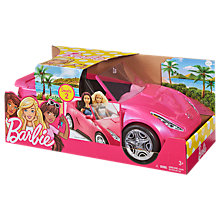 Buy Barbie Glam Convertible Car Online at johnlewis.com