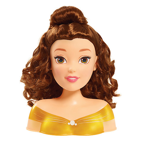 Buy Disney Princess Beauty and the Beast Belle Styling Head Online at johnlewis.com