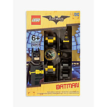 Buy LEGO 8020837 The LEGO Batman Movie Batman Watch Online at johnlewis.com
