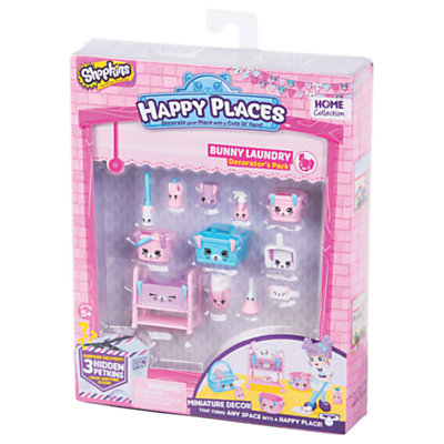Shopkins Happy Places Bunny Laundry Decorator's Pack