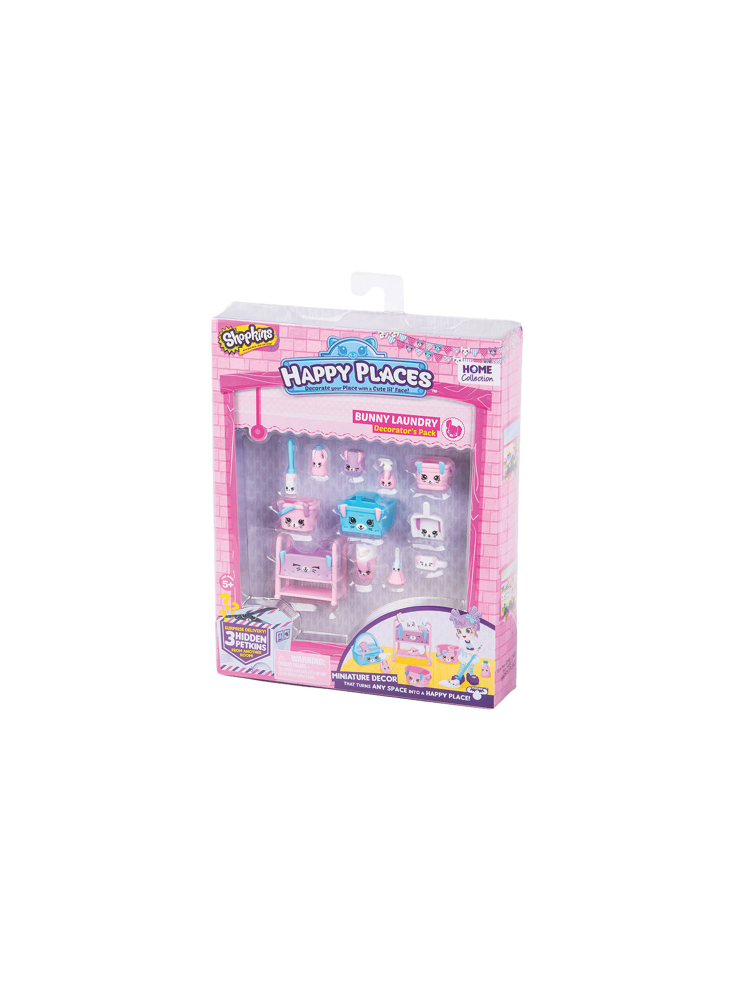 Shopkins happy places bunny laundry decorator 39 s pack at - John lewis shopkins ...