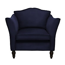 Buy Duresta Vaughan Armchair, Harrow Velvet Navy Online at johnlewis.com