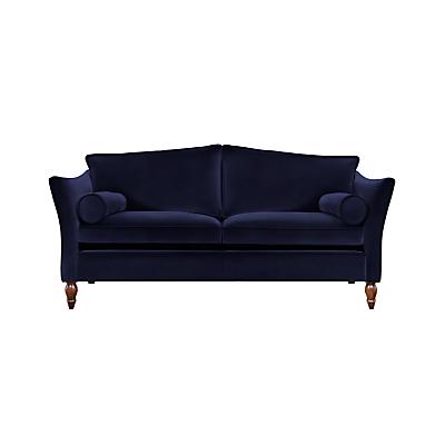 Duresta Vaughan Large 3 Seater Sofa, Umber Leg, Harrow Velvet Navy