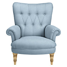 Buy John Lewis Hambleton Armchair, Light Leg, Erin Duck Egg Online at johnlewis.com