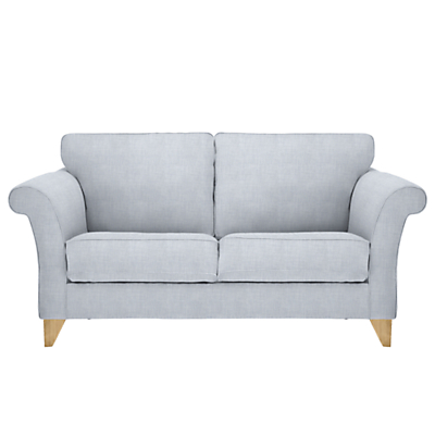 John Lewis Charlotte Medium 2 Seater Sofa, Light Leg, Fraser Duck Egg