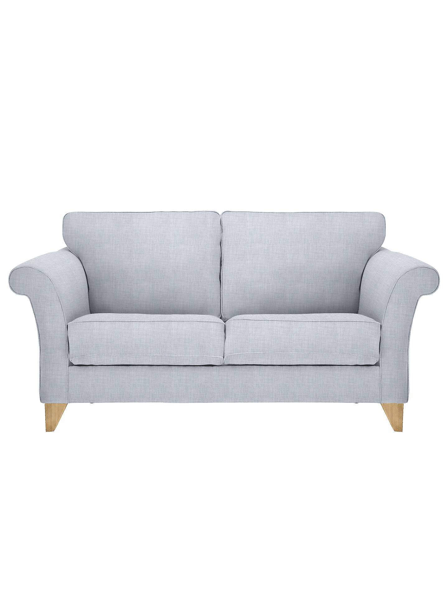 John Lewis Charlotte Medium 2 Seater Sofa Light Leg Fraser Duck
