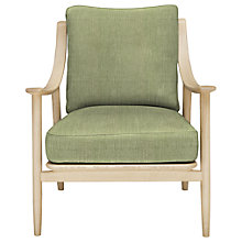 Buy ercol for John Lewis Marino Armchair, Oak Leg, Vernaldo Dune Online at johnlewis.com