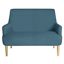 Buy John Lewis Perth Petite Sofa, Light Leg, Blair Petrol Online at johnlewis.com
