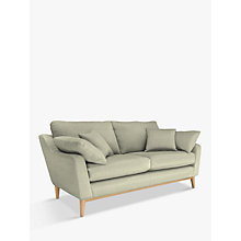 Buy ercol for John Lewis Salento Large 3 Seater Sofa, Oak Leg, Maria Eau De Nil Online at johnlewis.com