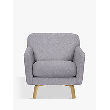 Buy John Lewis Archie Armchair, Light Leg, Saga Grey Online at johnlewis.com