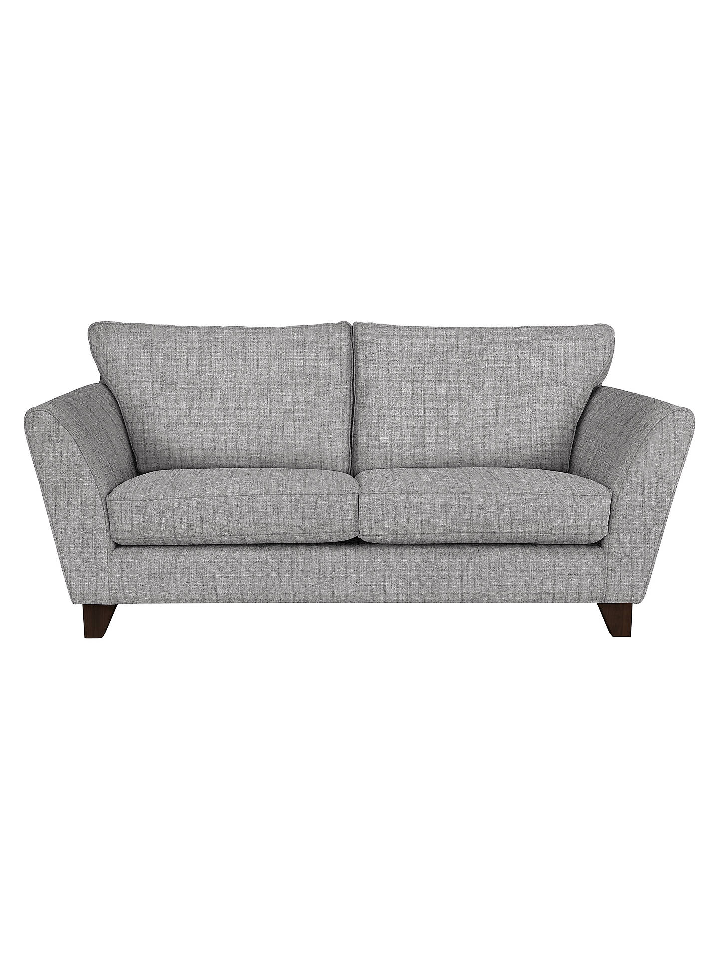 John Lewis Partners Oslo Medium 2 Seater Sofa Dark Leg Porto Blue Grey