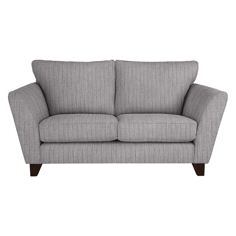 John Lewis Oslo Small 2 Seater Sofa, Dark Leg, Porto Blue