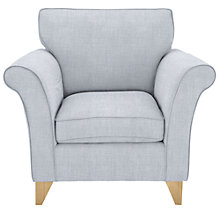 Buy John Lewis Charlotte Armchair, Light Leg, Fraser Duck Egg Online at johnlewis.com